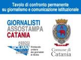 Informazione: tavolo permanente Comune Catania-Assostampa su Comunicazione istituzionale