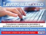 Uno sportello online per i giornalisti lavoratori autonomi e parasubordinati