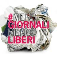 """""""Meno giornali=meno liberi"""". Appello di nove sigle, anche Fnsi, Alleanza delle Cooperative Italiane, Art.21, Slc Cgil, Uspi"""