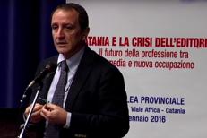Intervento di Riccardo Arena, presidente dell'Ordine dei giornalisti di Sicilia all'assemblea provinciale di Assostampa Catania del 24 gennaio 2016