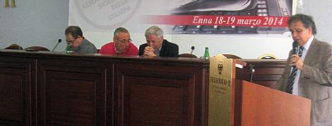 Alberto Cicero riconfermato al Congresso di Enna alla guida dell'Assostampa Sicilia. Eletto il nuovo Consiglio regionale