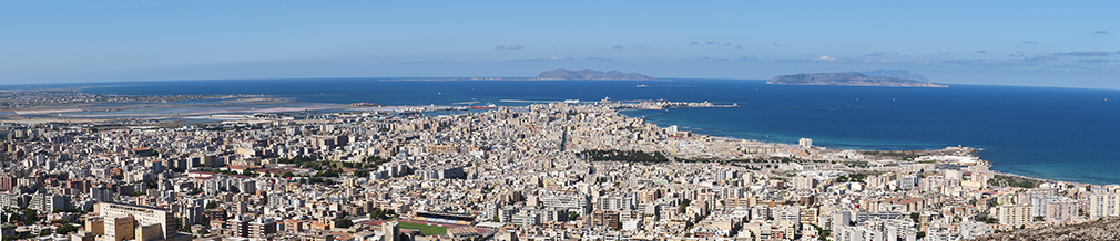 Trapani panorama, Sicily, Italy - by Michal Osmenda