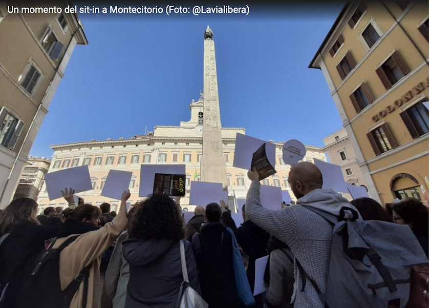 sit in montecitorio 19 feb 2020