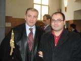 Il giornalista José Trovato e l'avvocato Salvatore Timpanaro